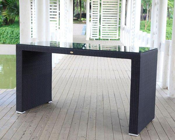 Rattan Bar-Rattan Möbel-Loungemöbel-Lounge Vermietung